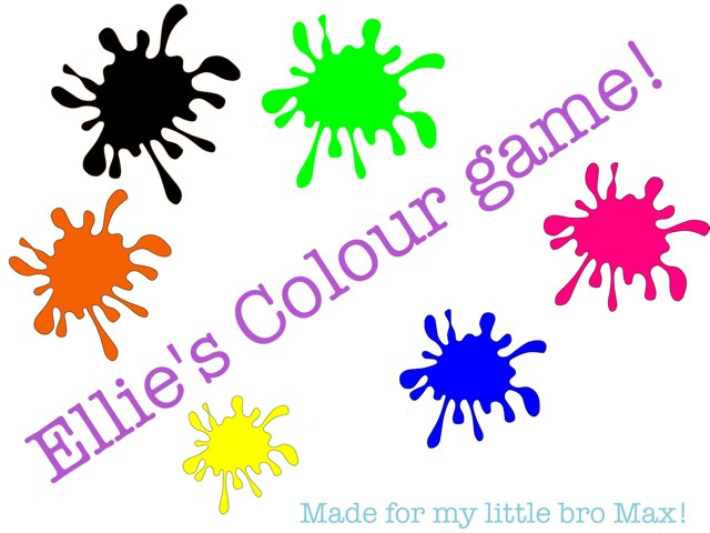 Colour Game! by Ellie