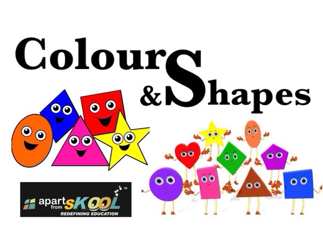 Colours And Shapes by TinyTap creator