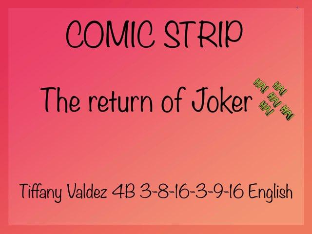 Comic Strip by Tiffany Valdez