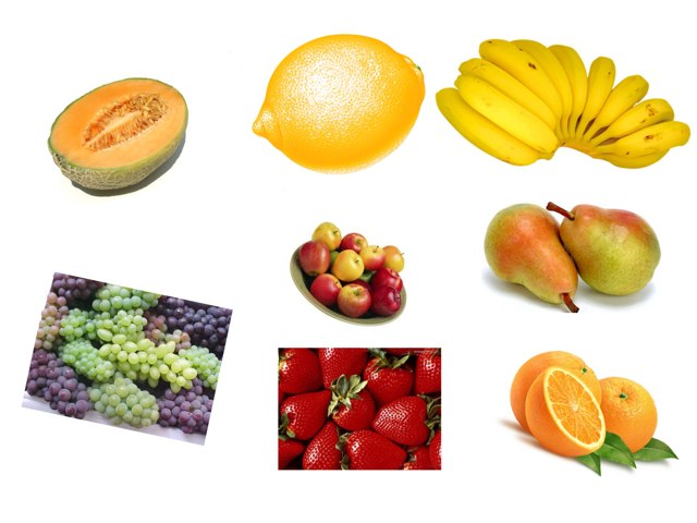 Comida Sana (frutas) by Maria Ruiz-Haneberg