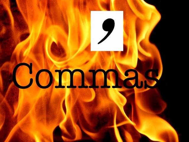 Commas Attack by Krystal Wiggins