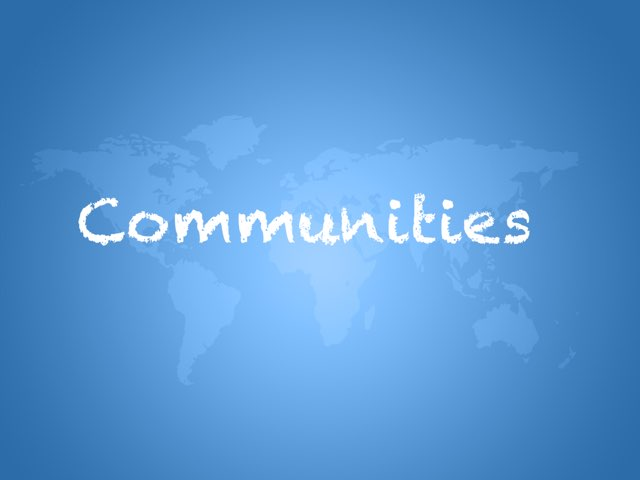 Communities by Danielle Rice