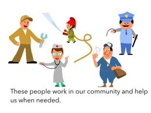 Community Helpers by Leslie Miles