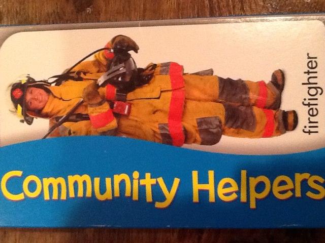 Community Helpers by Wendy Hazelwonder