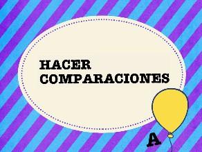 Comparaciones by Colegio Jaby