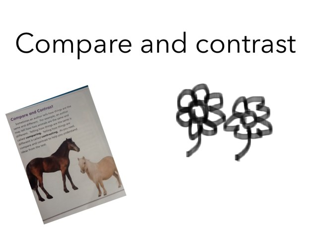 Compare And Contrast by Maryam Alali