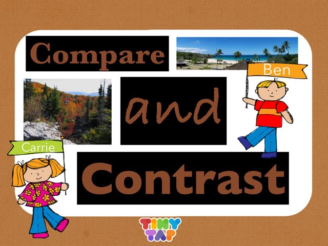 Compare and Contrast - Camping Trips - RL.1.9 by Jennifer