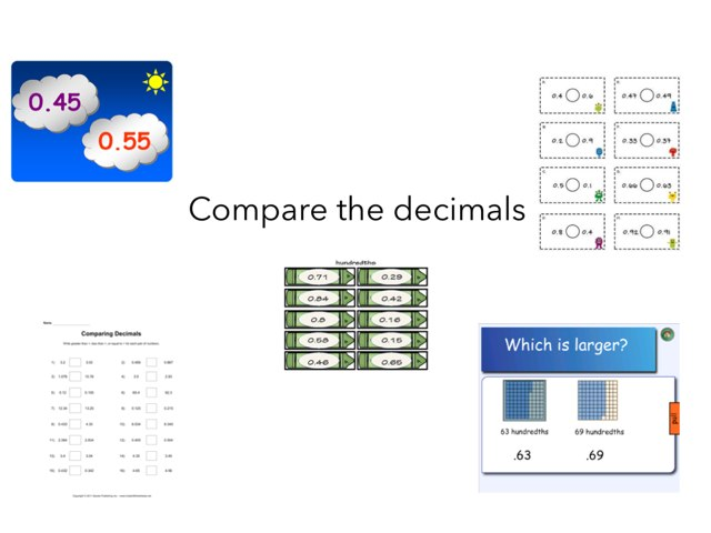 Comparing Decimals by Meredith Gebren