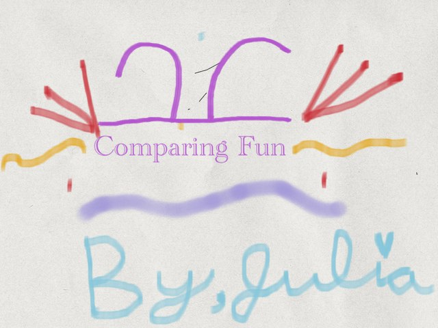 Comparing Fun by Leanne Forrest
