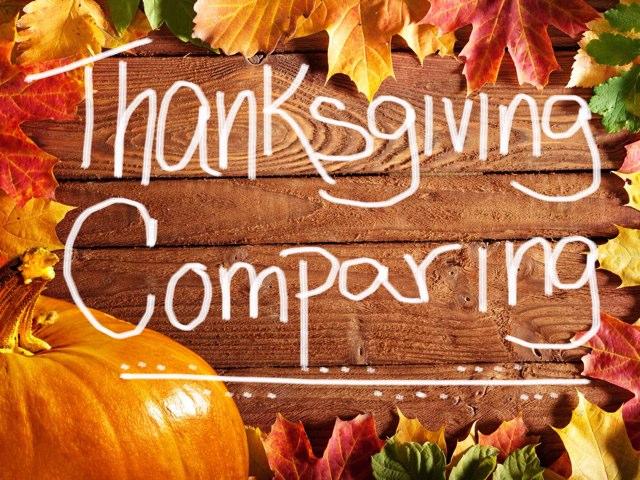Comparing  by Carolyn Mulbach