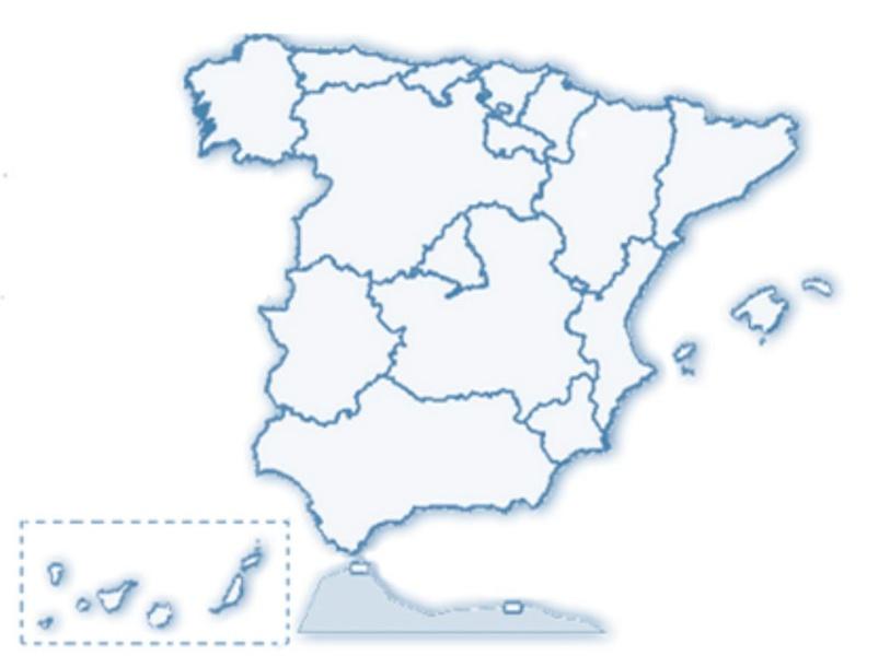 Comunidades Autónomas de España by FRANCISCO JOSÉ SILVA GONZÁLEZ
