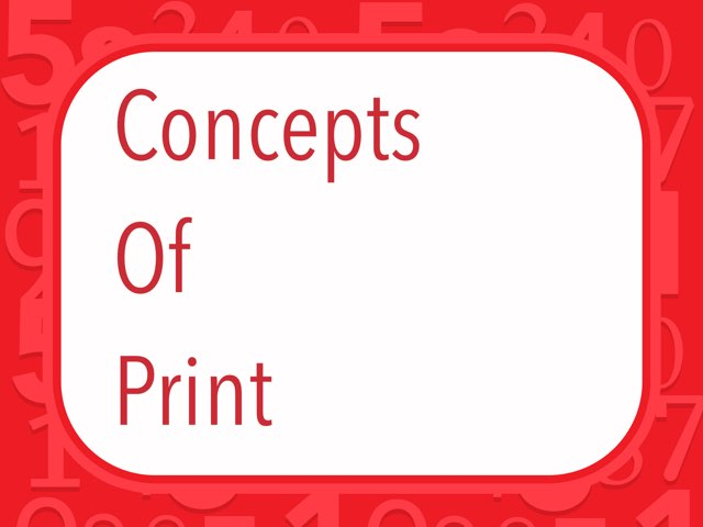 Concepts Of Print by Amy Reeves