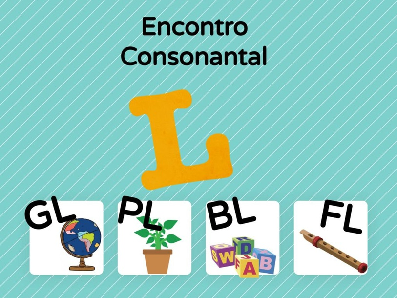 Consciência Silábica Encontro Consonantal L by Ana Carolina Povoa