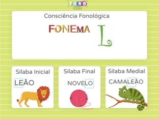 Consciência Silábica Fonema L by Ana Carolina Povoa