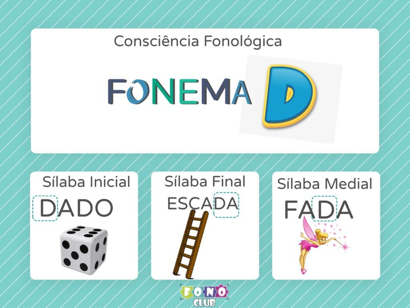 Consciência Silábica Fonema d by Ana Carolina Povoa