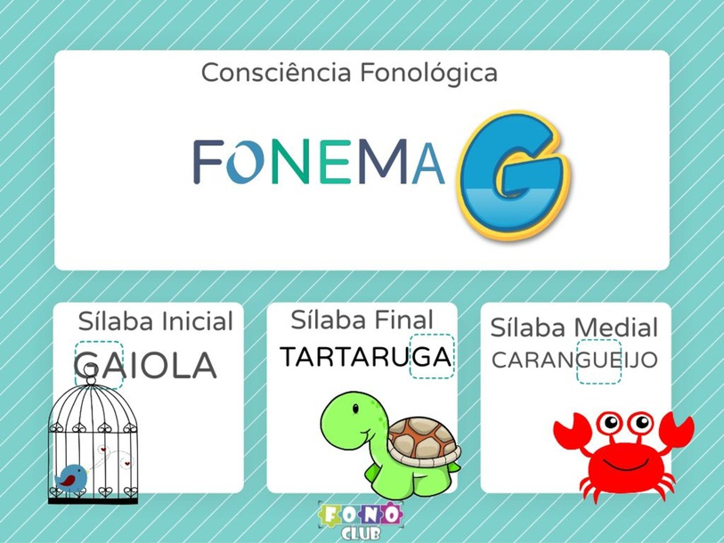 Consicnecia Fonologica G by Ana Carolina Povoa