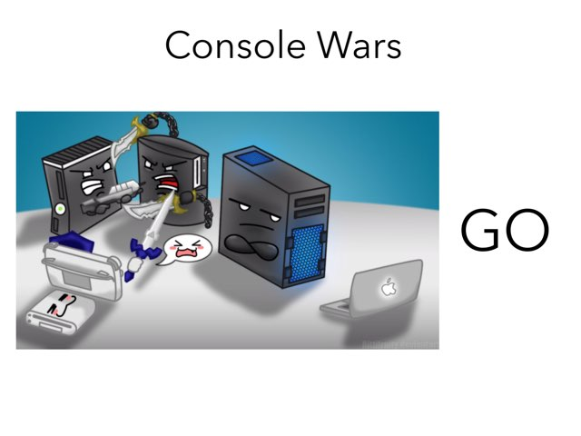 Console Wars by Dylan  Martinez