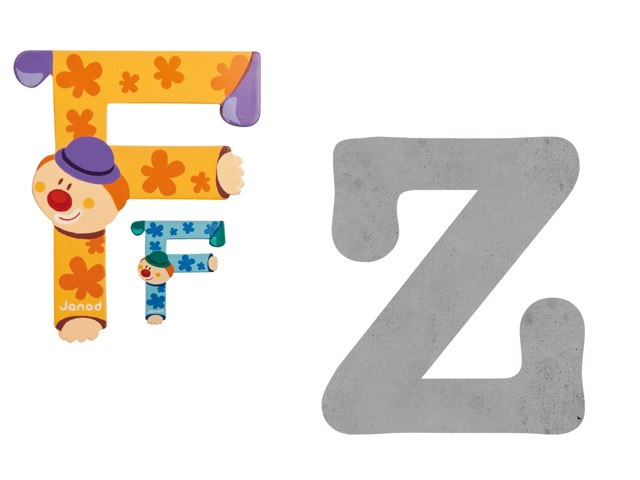 Consonantes F Y Z by Pao Mancera