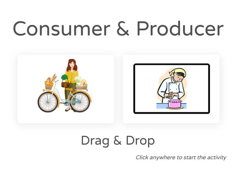 Consumer & Producer Drag & Drop by Julio Pacheco