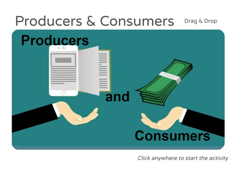 Consumers & Producers Connections by Julio Pacheco
