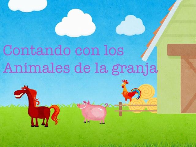 Contando Con Los Animales De La Granja by Diana Perdomo