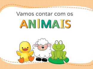 Conte os ANIMAIS by Ana Carolina Povoa