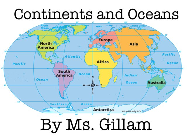 Continents and Oceans by Amy Gillam