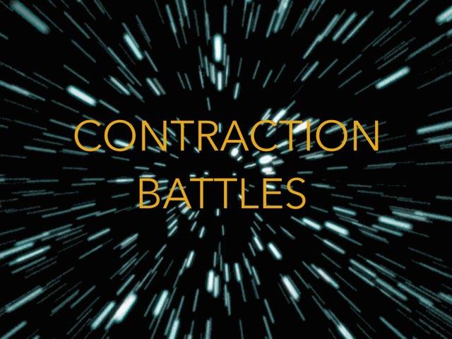 Contraction Battles- A Galactic grammar Adventure by Y6F Y6F