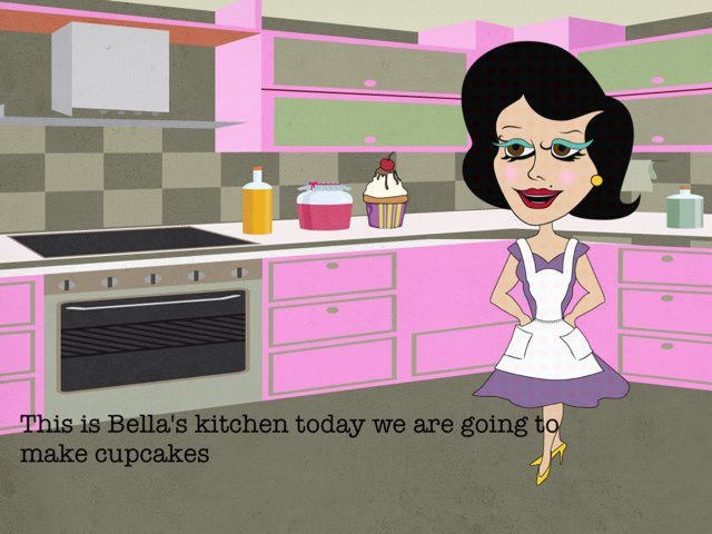Cooking Cupcakes With Bella by Bella Rose