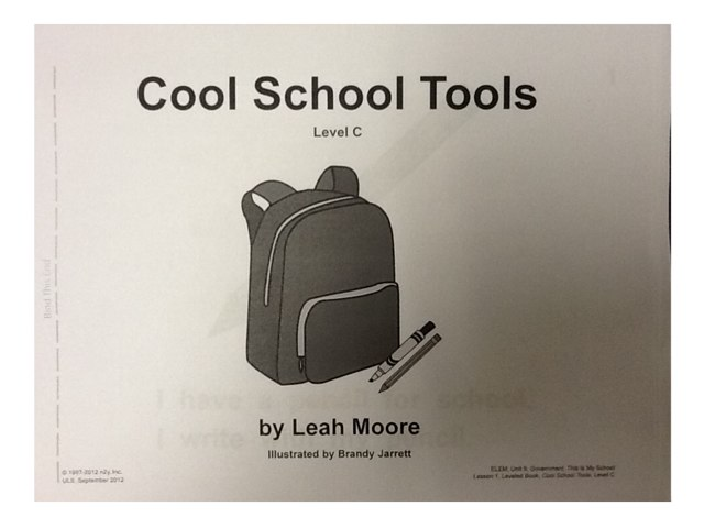Cool School Tools by Rolly Flores