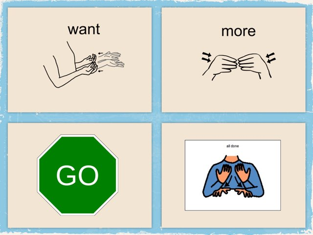 Core vocabulary words by Brittany Allen
