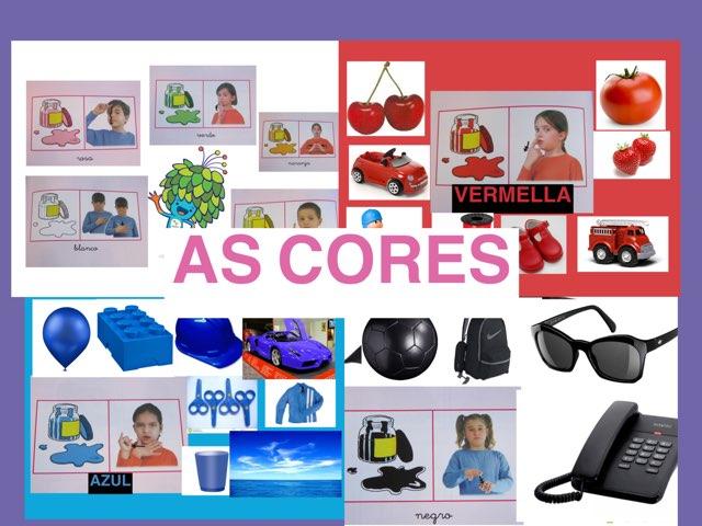 Cores En Lingua De Signos by Ana Enriquez