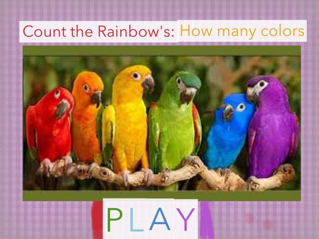 Count The Rainbows: How Many Colors by Gugus Ibuas