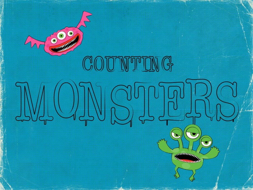 Count the Spooky Monsters! by Paige Hobson