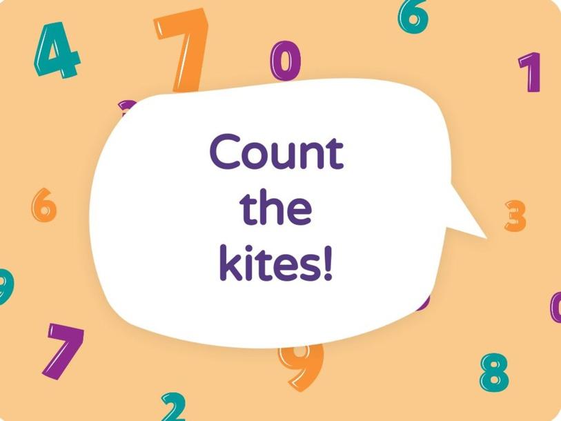 Count the kites! by Varvara Nikolakaki
