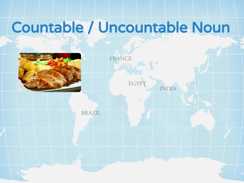 Countable / Uncountable Noun by Tracy Chang