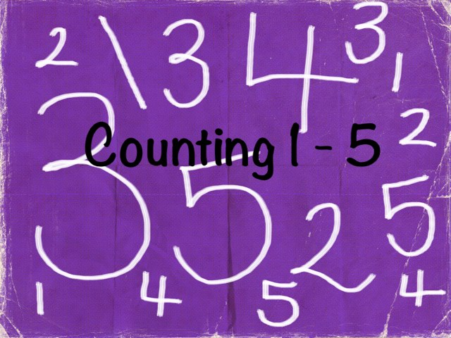 Counting 1 - 5 by Laura Somers