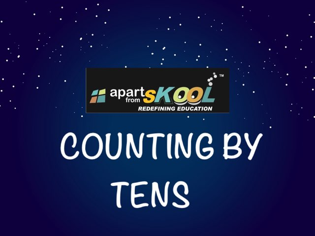 Counting By Ten's by TinyTap creator