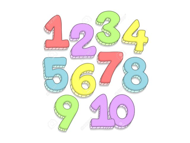 Counting In Hebrew by Morah Wilma