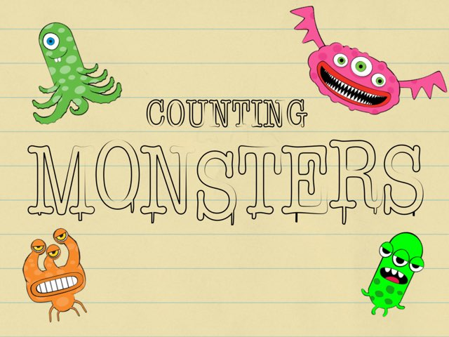 Counting Monsters by Emily Hyde