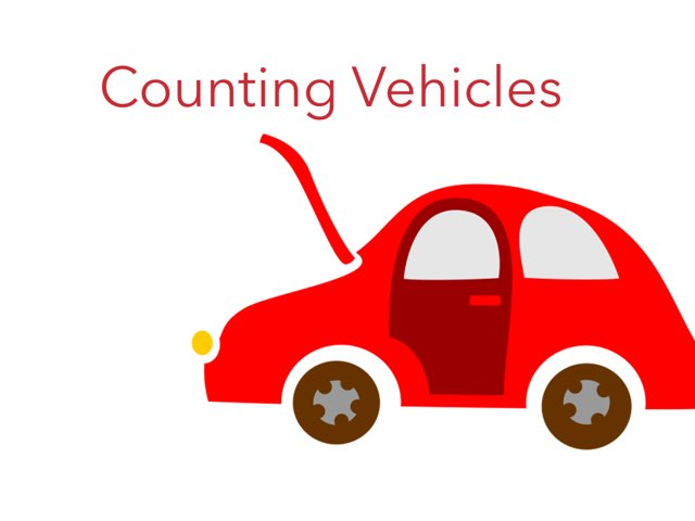 Counting Vehicles by Caren Rothstein