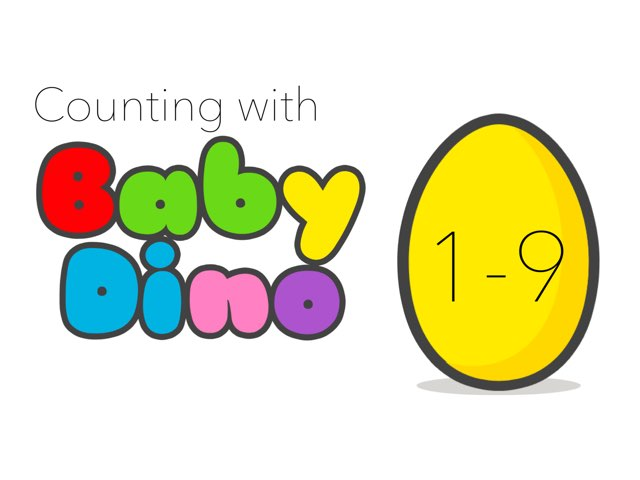 Counting With Baby Dino by Tiny Tap
