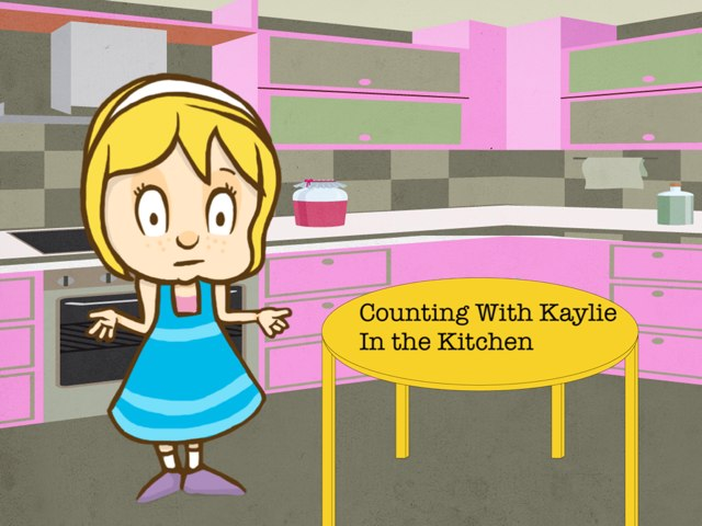 Counting with Kaylie In The kitchen by Nancy Cook