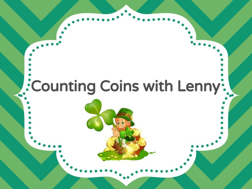 Counting Coins with Lenny by Taylor Gonzales