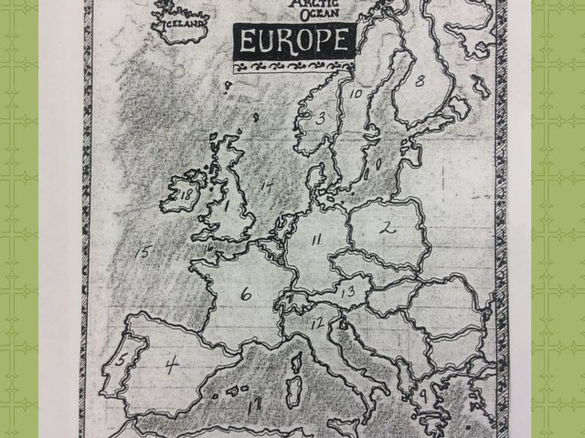 Countries Of Europe  by Amy zimmer