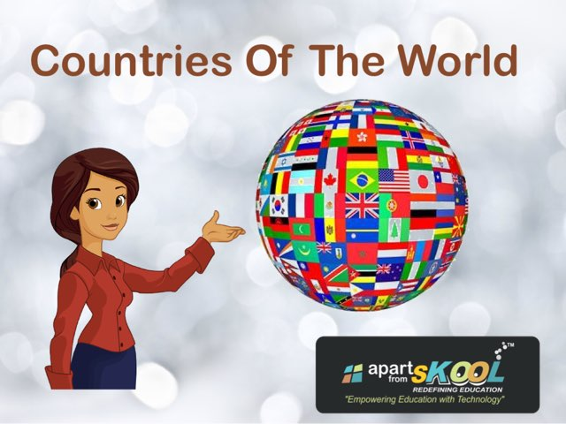 Countries Of The World by TinyTap creator