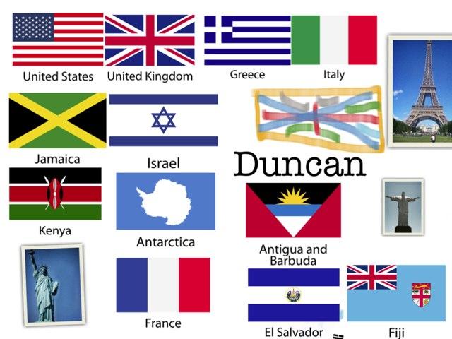 Countries!!!! by Jennie Byrne