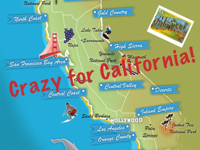 Crazy For California  by Ann Musto