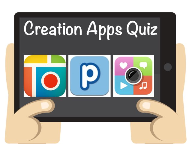 Creation Apps Quiz by Jessica Preisig