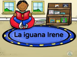 Cuento: La iguana Irene by Marlene Espinoza